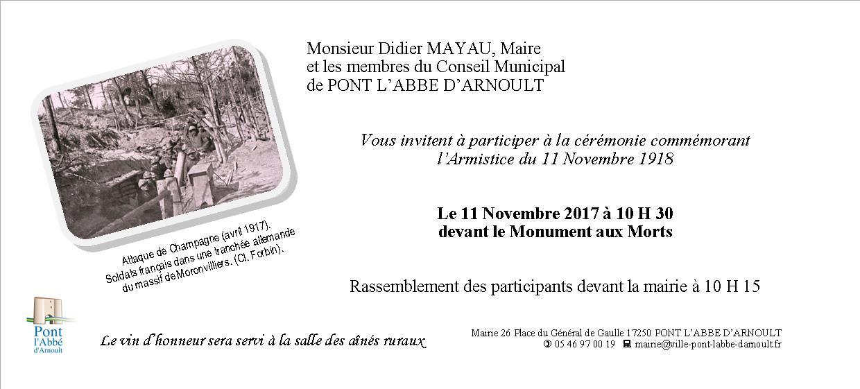 C r monie du 11 novembre 2017 site officiel de la mairie for Piscine ouverte le 11 novembre