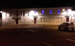 Mairie en bleu 1