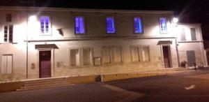 Mairie en bleu 2