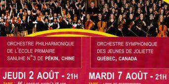 Concerts des Eurochestries
