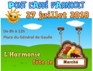 l'Harmonie fête le Marché