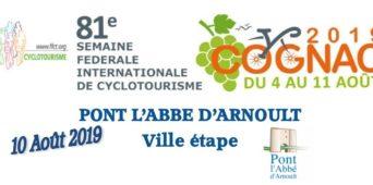 Étape Semaine Fédérale Cyclotourisme