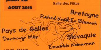 Festival folklorique - Programme du 15 août