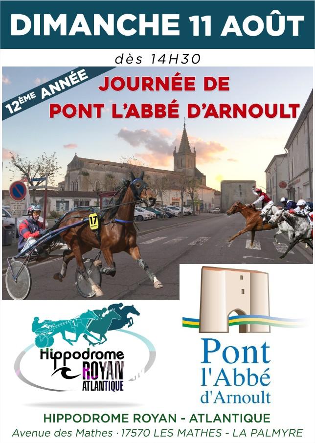 Affiche Journée de Pont l'Abbé d'Arnoult