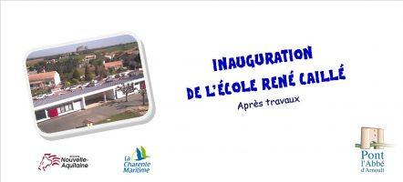 École René Caillé, Inauguration